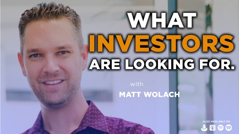 VIDEOCAST: What Investors are Looking For – Katie Bronnenkant