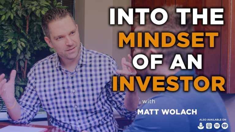 VIDEOCAST: Into the Mindset of an Investor