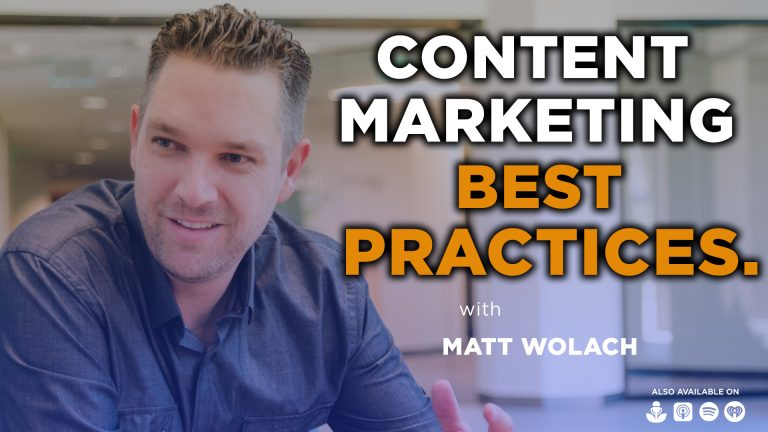 VIDEOCAST: Content Marketing Best Practices – with Steve Pockross