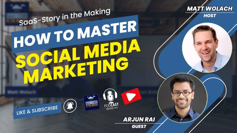 VIDEOCAST: How to Master Social Media Marketing – with Arjun Rai