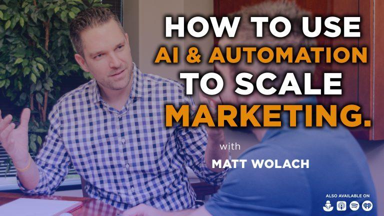 VIDEOCAST: How to Use AI and Automation to Scale Marketing – with Przemek Chojecki