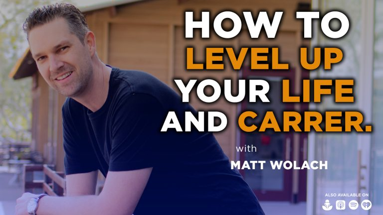 VIDEOCAST: How to Level up Your Life and Career – with Eric Siu