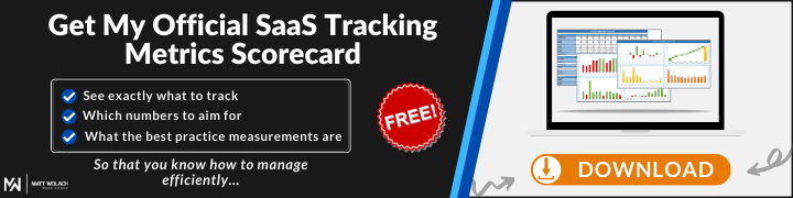 SaaS Sales Scorecard - Easily Track SaaS Metrics