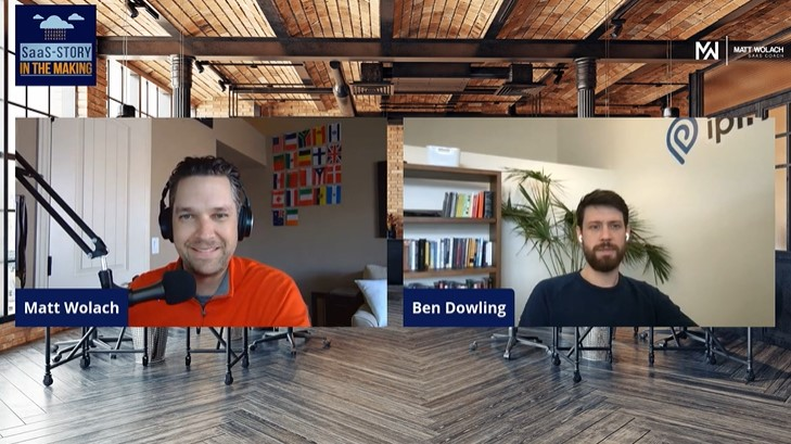 VIDEOCAST:  Ways to Determine Where to Focus for Your SaaS Startup – with Ben Dowling