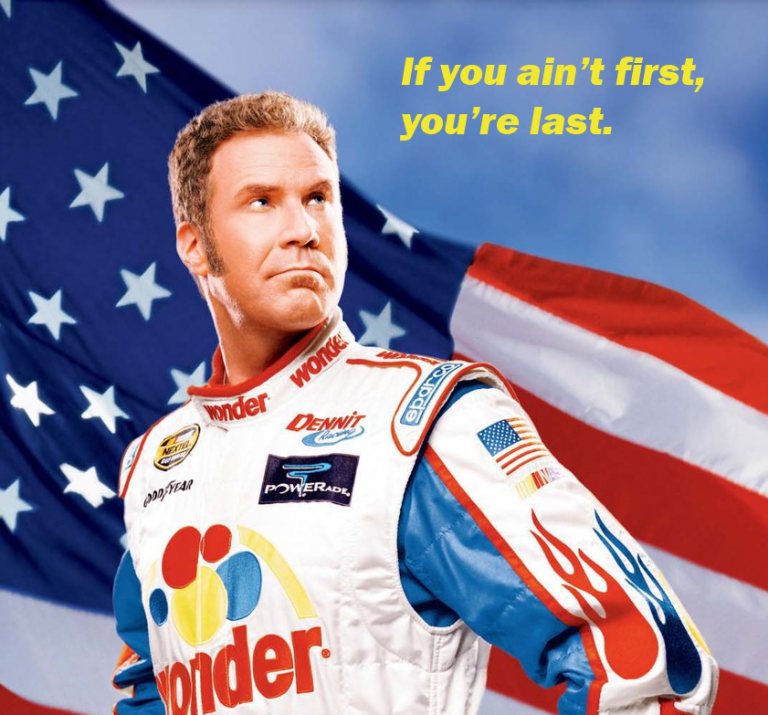 Sales From Pop Culture: Ricky Bobby