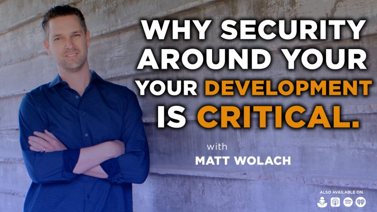 Why Security Around Your Development is Critical with Brittany Greenfield