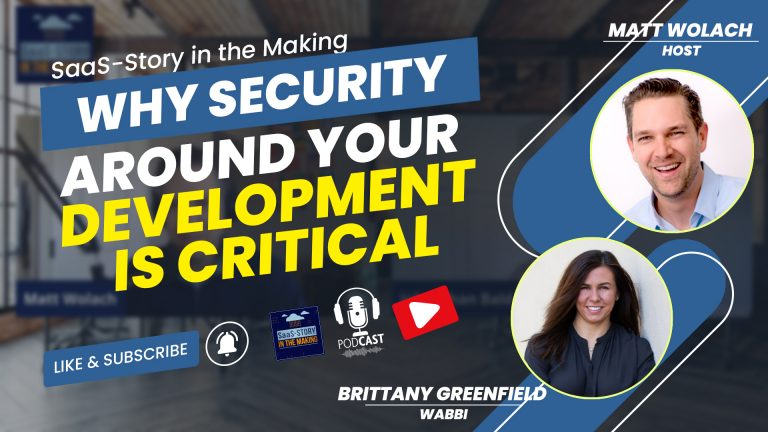VIDEOCAST: Why Security Around Your Development is Critical – with Brittany Greenfield