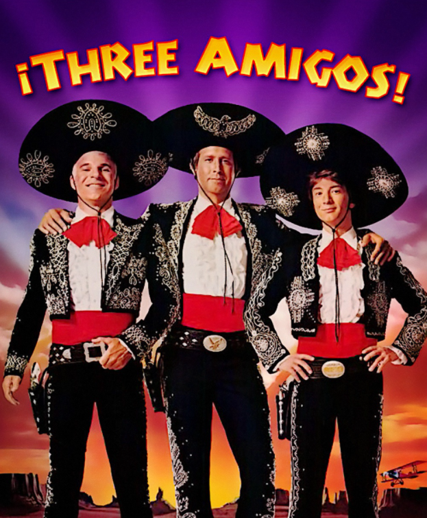 Sales From Pop Culture: Three Amigos