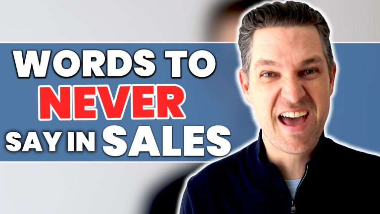 Words To Never Say In Sales