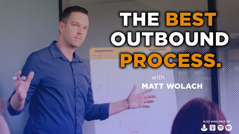 The Best Outbound Process with Joe Petruzzi