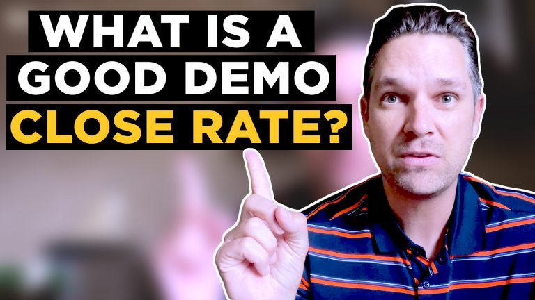 What is a good demo close rate?